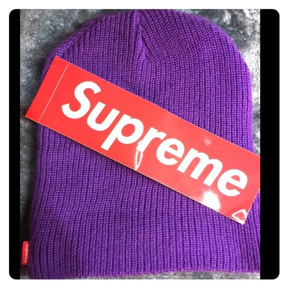 392de02199d Supreme purple basic beanie. M 5a7110e0c9fcdf3c1c74fe47